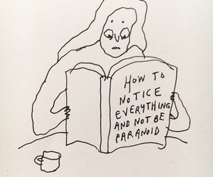 paranoid and book image