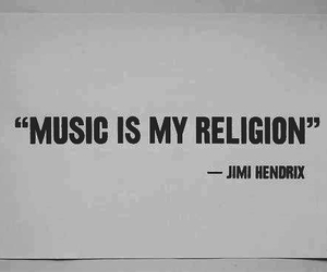 music, religion, and Jimi Hendrix image