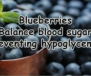 blueberries, healthy living, and iron image