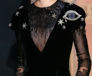 black, glitter, and schiaparelli image