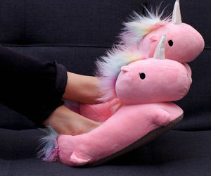 unicorn, pink, and cute image