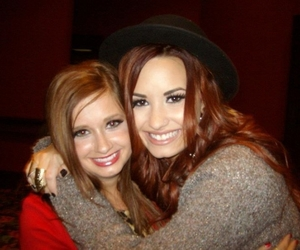 demi lovato, red hair, and 2011 image