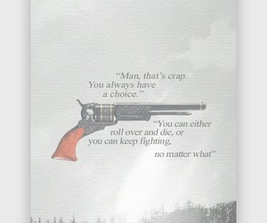 gun, inspirational, and quote image