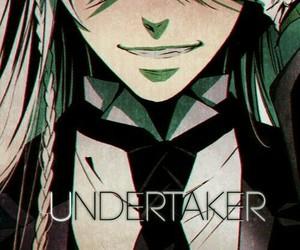 black butler, undertaker, and anime image