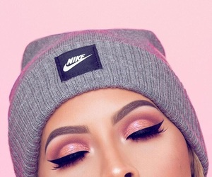 nike, makeup, and beauty image