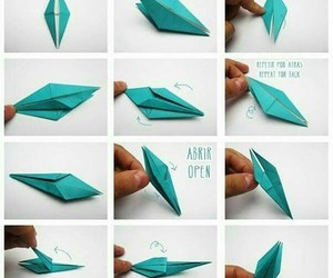 diy, origami, and papel image