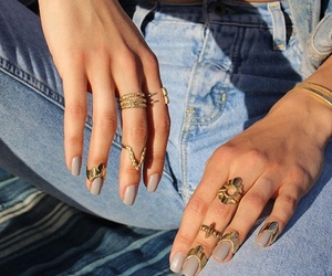 accesories, nails, and diamond image
