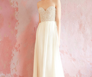beautiful, gown, and spring image