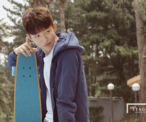 actor, boyfriend, and skateboard image