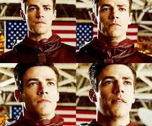 flash, barry allen, and grant gustin image