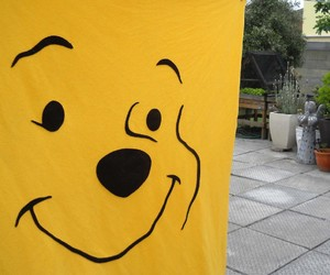blanket, customised, and winnie the pooh image