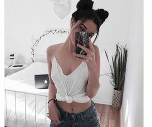 jeans, white, and cute image