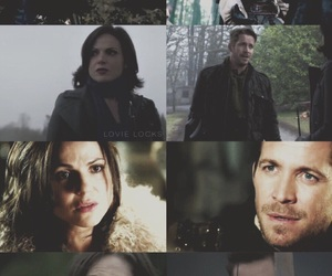 outlaw queen, robin hood, and ️ouat image