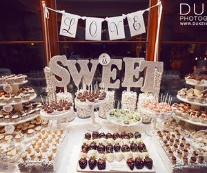 candy, wedding, and parte image