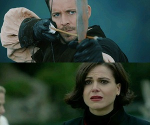 outlaw queen and ️ouat image