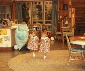 full house, girls, and tv show image