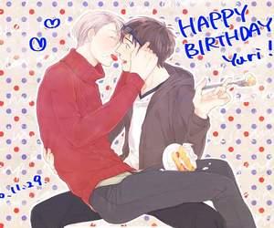 anime, birthday, and boys image