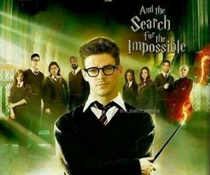 the flash, barry allen, and harry potter image