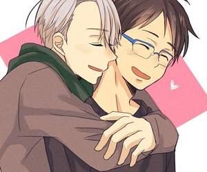 bl, hug, and yuri on ice image