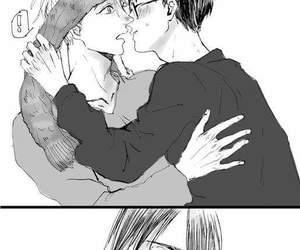 anime, boys, and couple image