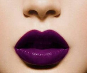 colourfull, violet, and colorfull lips image