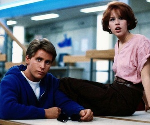 The Breakfast Club, emilio estevez, and movie image
