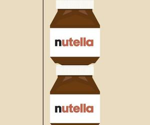 nutella, depression, and chocolate image