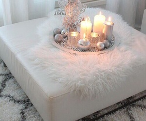 candle, white, and home image