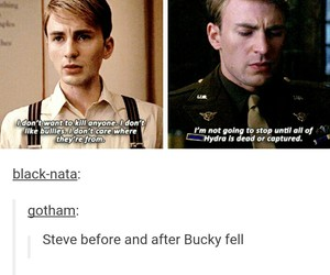 captain america and bucky barnes image