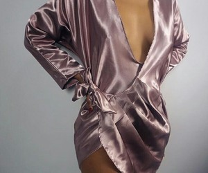fashion, silk, and style image