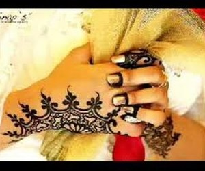 hands, mehndi designs, and video image