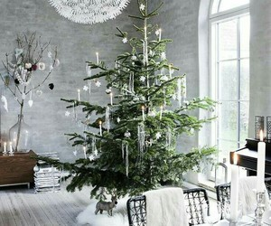 christmas, decorations, and interior image