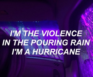 purple, quotes, and halsey image