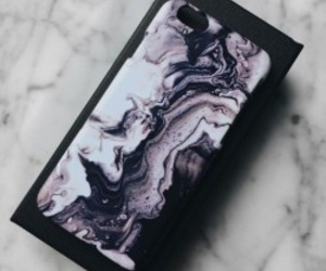 fashion, iphone apple, and marble image
