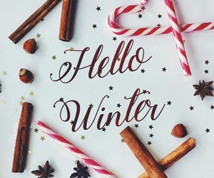 hello, winter, and candy image