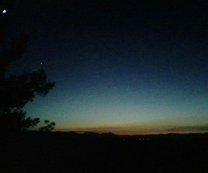 moon and sunset image