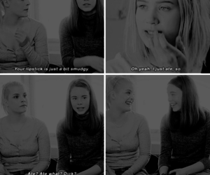 funny, girls, and skam image