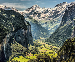 europe, mountains, and nature image