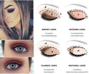 cosmetics, makeup, and eyes image