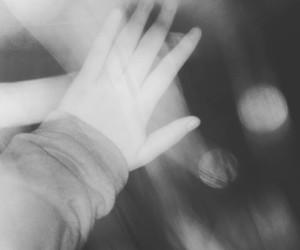 grunge, hand, and night image