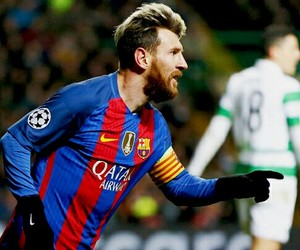 Barcelona, messi, and fútbol image