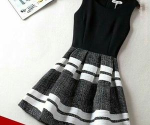 black dress and fashion image