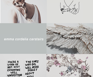 emma carstairs, lady midnight, and pretty image
