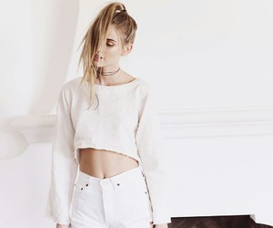 fashion, white, and scarlett leithold image