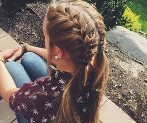 bob, hairstyle, and braid image
