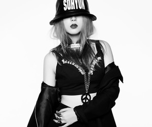 4minute, sohyun, and crazy image