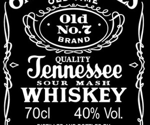 whiskey, jack daniels, and alcohol image