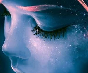 art, galaxy, and fantasy image