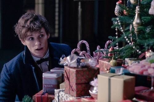 christmas, fantastic beasts, and and where to find them image