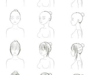 anime, diy, and draw image